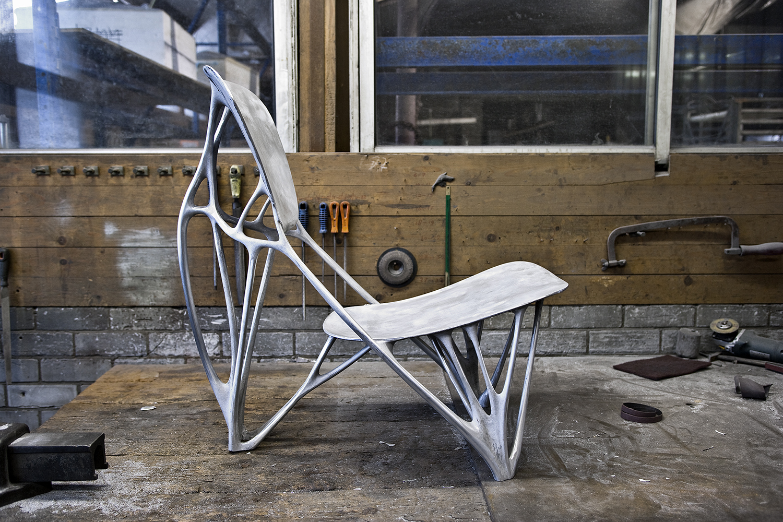 V Lab Meubels : Bone chair joris laarman
