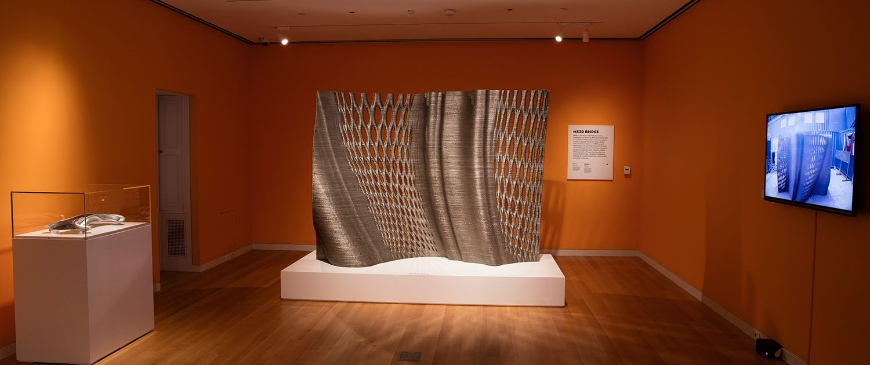 Joris Laarman Lab design in the digital age Cooper Hewitt New york gradient screen