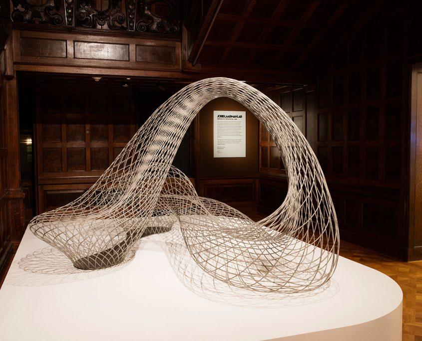 Joris Laarman Lab design in the digital age Cooper Hewitt New york dragon bench