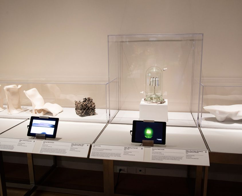 Joris Laarman Lab design in the digital age Cooper Hewitt New york half life lamp