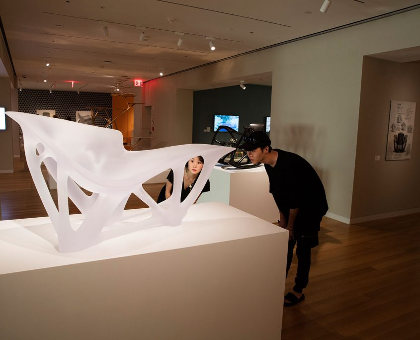 Joris Laarman Lab design in the digital age Cooper Hewitt New york bone chaise