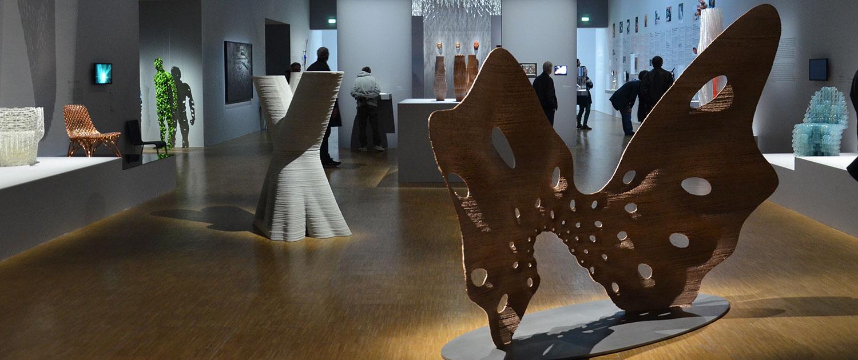Joris Laarman Lab butterfly screen pompidou