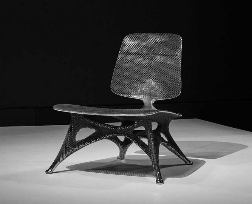 Joris Laarman Lab NGV Melbourne Triennial gradient chair