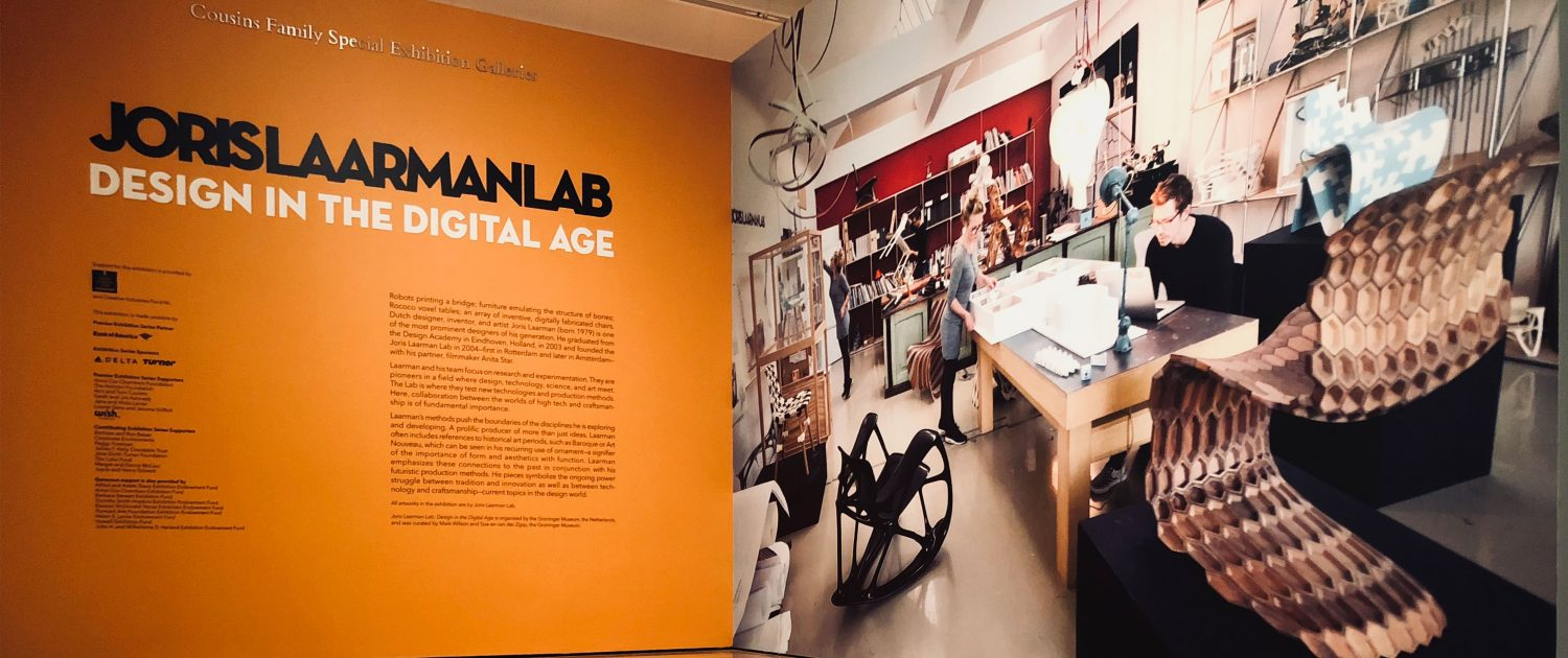 Joris Laarman Lab design in the digital age Atlanta High Museum