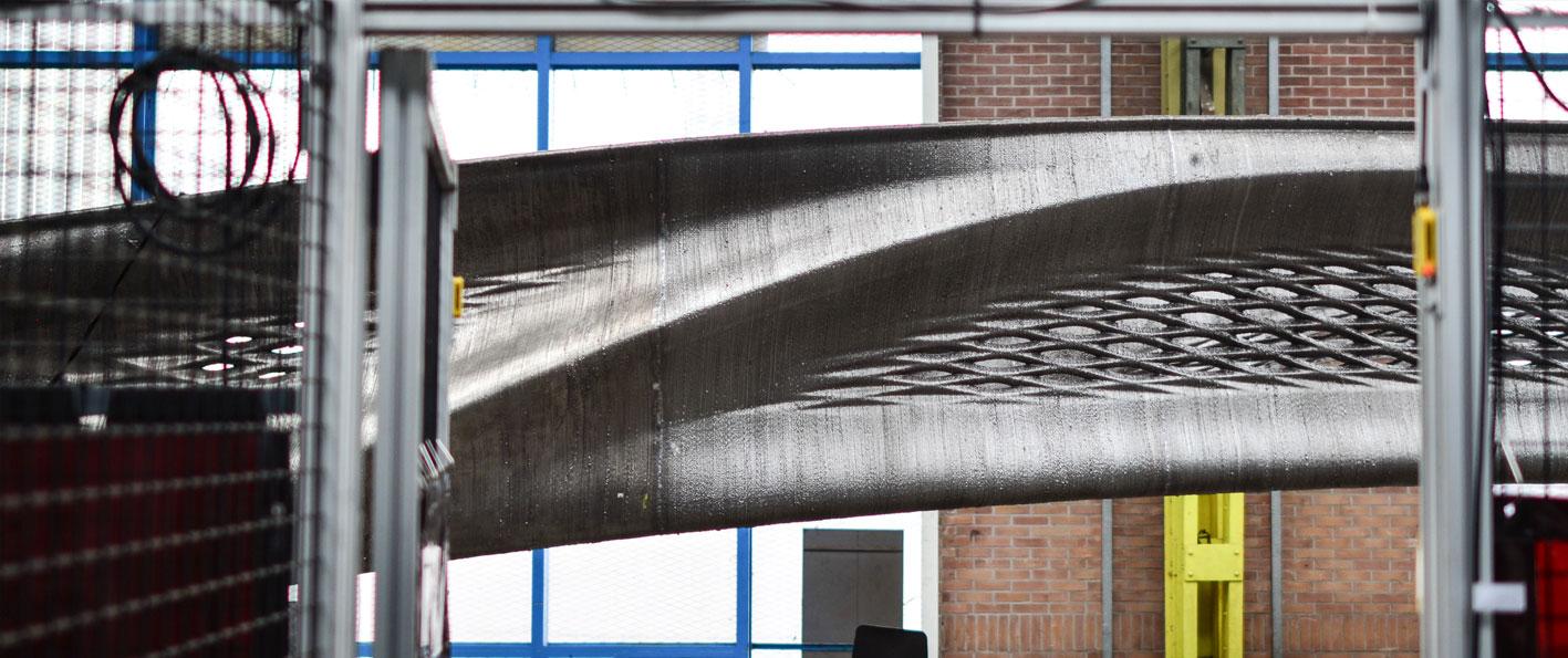 Joris Laarman Lab MX3D 3D printed metal Bridge